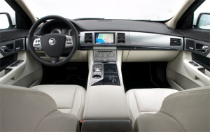 Jaguar XFR Interior 001